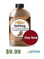 what does nutmeg oil do