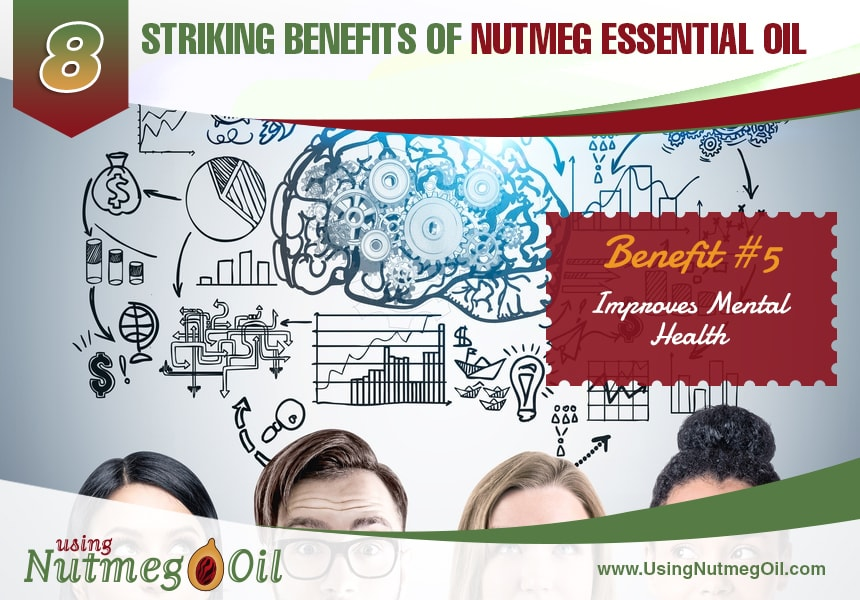 what does nutmeg oil do