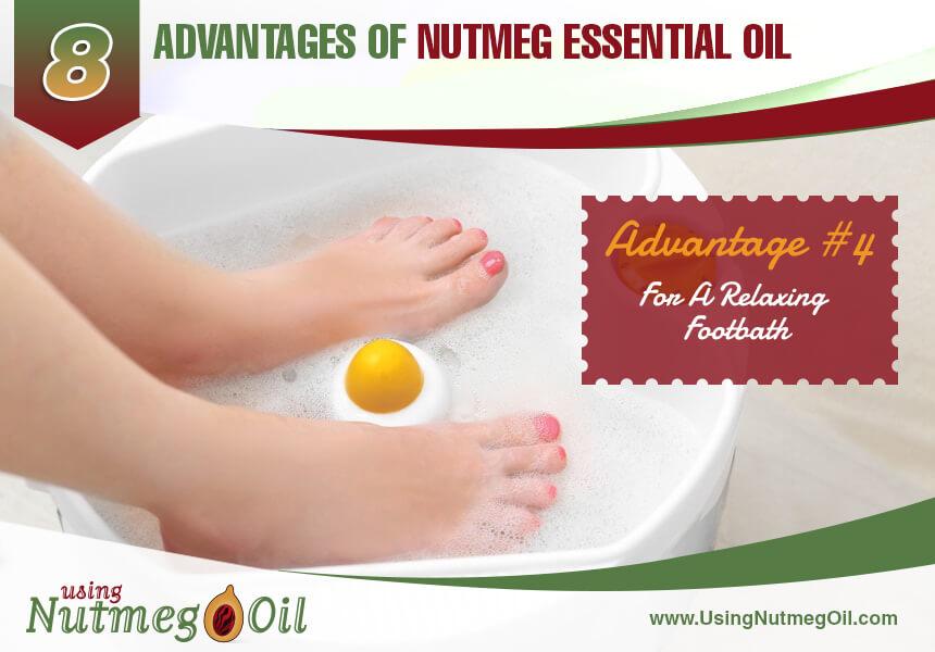 nutmeg oil uses